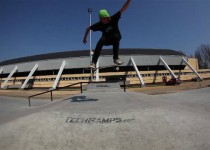 One Day - Techramps news skatepark in Oświęcim - Skateboard